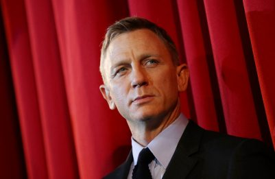 Daniel Craig dà l'addio a James Bond, Uk scommette sul successore