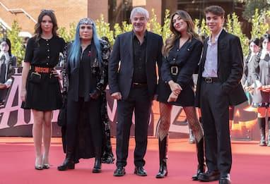 Roma 2021, il Red Carpet del cast italiano de La Famiglia Addams 2
