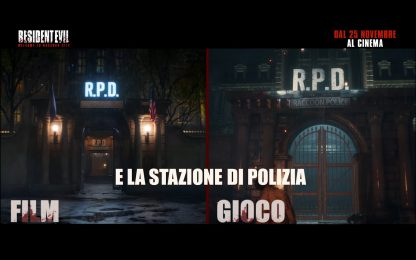 Resident Evil: Welcome to Raccoon City, analogie film-gioco. VIDEO