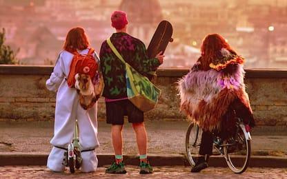 Anni da cane, il cast del film con Achille Lauro. FOTO