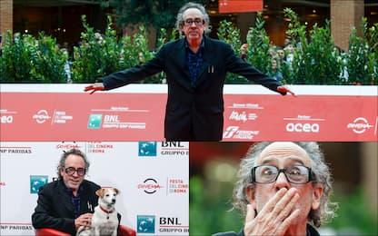 Festa del Cinema di Roma, Premio alla carriera per Tim Burton. FOTO