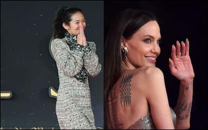 "Festa Cinema Roma, Angelina Jolie sul red carpet di ""Eternals"". FOTO"