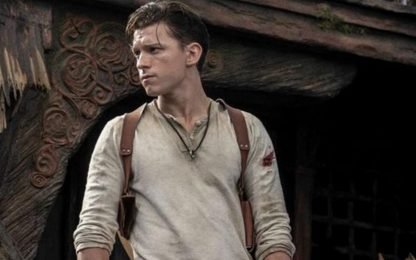 Uncharted, divertente video backstage con Tom Holland e Mark Wahlberg