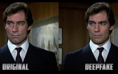 James Bond, un video deepfake mostra Henry Cavill nei panni di 007
