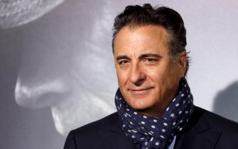 epa07222881 United States-Cuban actor Andy Garcia poses during arrivals for the world premiere of 'The Mule' in Westwood, California, United StatesA, 10 December 2018.  EPA/EUGENE GARCIA