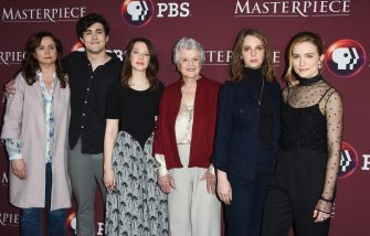 , Pasadena, CA - 01/16/18 - Little Women Photo Call -PICTURED: Emily Watson, Jonah Hauer-King, Annes Elwy, Angela Lansbury, Maya Hawke and Willa Fitzgerald -PHOTO by: Vince Flores/startraksphoto.com -VIF123191  Editorial - Rights Managed Image - Please contact www.startraksphoto.com for licensing fee Startraks Photo New York, NY Image may not be published in any way that is or might be deemed defamatory, libelous, pornographic, or obscene. Please consult our sales department for any clarification or question you may have. Startraks Photo reserves the right to pursue unauthorized users of this image. If you violate our intellectual property you may be liable for actual damages, loss of income, and profits you derive from the use of this image, and where appropriate, the cost of collection and/or statutory damages. (Vince Flores / IPA/Fotogramma, Pasadena - 2018-01-16) p.s. la foto e' utilizzabile nel rispetto del contesto in cui e' stata scattata, e senza intento diffamatorio del decoro delle persone rappresentate