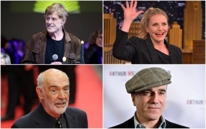 Gli attori che hanno detto addio al cinema. FOTO