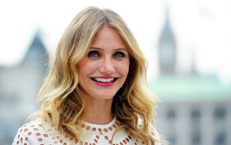 """LONDON, ENGLAND - SEPTEMBER 03:  Cameron Diaz attends a photocall for """"Sex Tape"""" at Corinthia Hotel London on September 3, 2014 in London, England.  (Photo by Stuart C. Wilson/Getty Images)"""