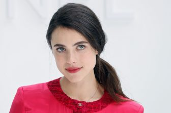 US actress and model Margaret Qualley poses during the photocall prior to the Chanel Women's Fall-Winter 2020-2021 Ready-to-Wear collection fashion show at the Grand Palais in Paris, on March 3, 2020. (Photo by FRANCOIS GUILLOT / AFP) (Photo by FRANCOIS GUILLOT/AFP via Getty Images)