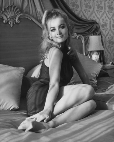 Actress Barbara Bouchet at the Royal Garden Hotel in London, 20th March 1967. (Photo by Keystone/Hulton Archive/Getty Images)