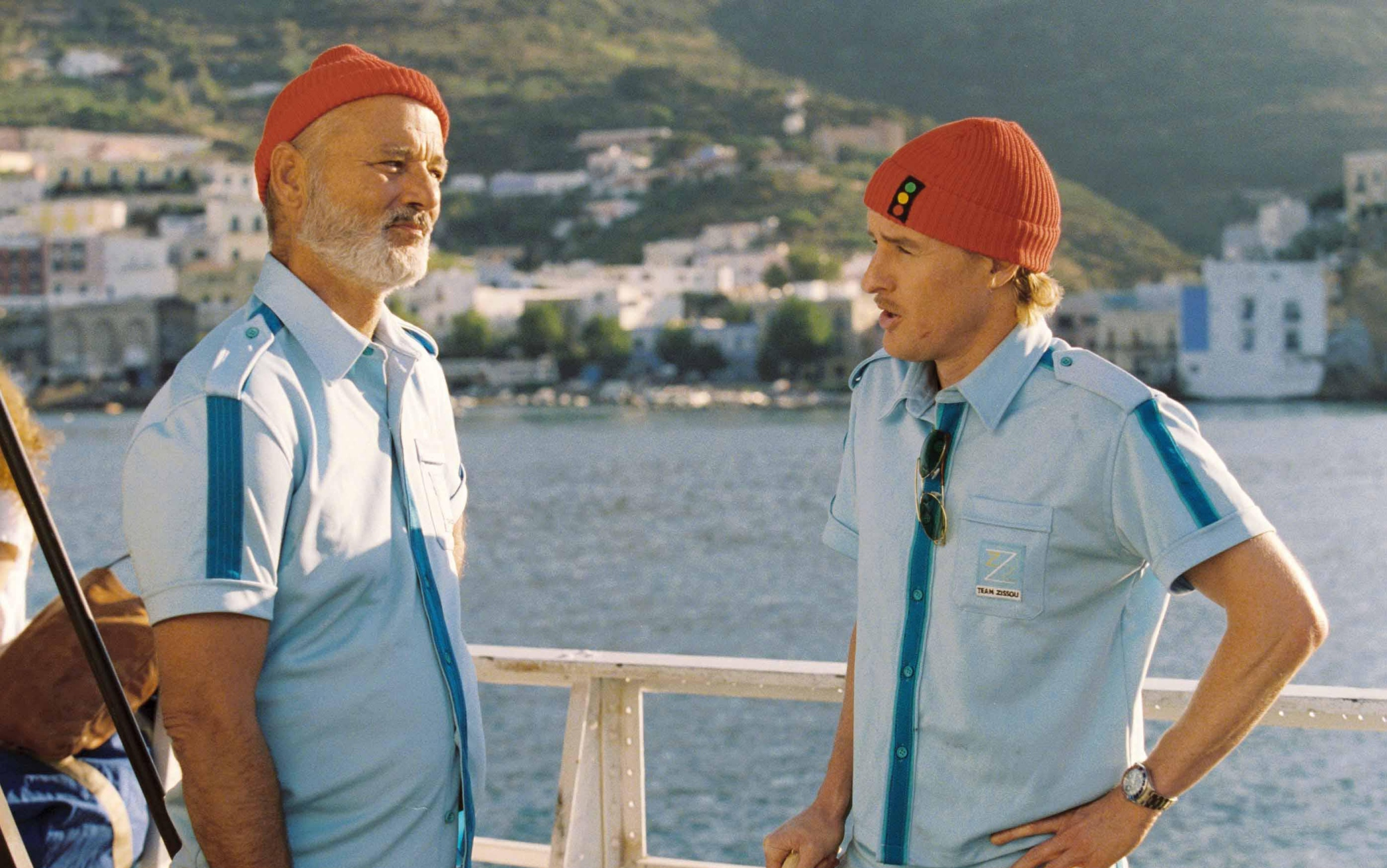 BILL MURRAY & OWEN WILSON in Life Aquatic Filmstill - Editorial Use Only Ref: FB www.capitalpictures.com sales@capitalpictures.com Supplied by Capital Pictures