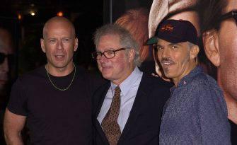 Bruce Willis, Barry Levinson and Billy Bob Thornton (Photo by SGranitz/WireImage)