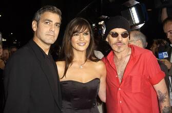 George Clooney, Catherine Zeta-Jones and Billy Bob Thornton (Photo by J. Vespa/WireImage)