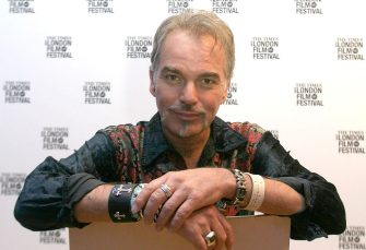 """Billy Bob Thornton during The Times BFI London Film Festival 2004 - """"Bad Santa"""" Photocall and Q and A at Odeon West End in London, England, Great Britain. (Photo by Ferdaus Shamim/WireImage)"""