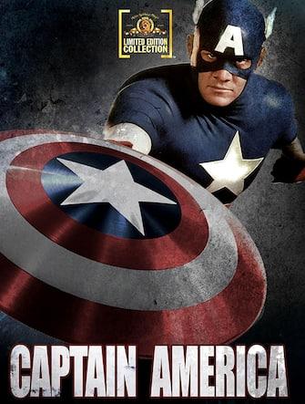 """La locandina del film """"Captain America"""" del 1990"""