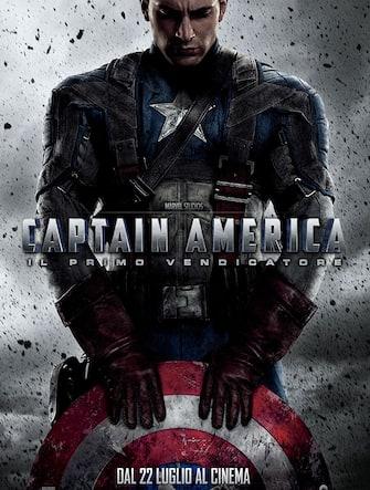"""La locandina del film """"Captain america - Il primo vendicatore"""""""