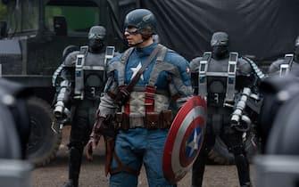 """Una scena del film """"Captain america - Il primo vendicatore"""""""
