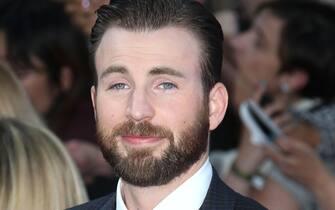 Apr 21, 2015 - London, England, UK - Chris Evans attending The Avengers: Age Of Ultron European Premiere, Vue Cinema, Westfield