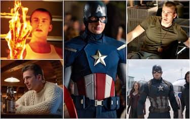 L'attore americano Chris Evans, protagonista di Capitan America, compie 40 anni