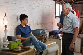 (L-r) Thao (BEE VANG) and Walt Kowalski (CLINT EASTWOOD) in Warner Bros. Picturesâ   and Village Roadshow Picturesâ   drama â  Gran Torino,â   distributed by Warner Bros. Pictures. PHOTOGRAPHS TO BE USED SOLELY FOR ADVERTISING, PROMOTION, PUBLICITY OR REVIEWS OF THIS SPECIFIC MOTION PICTURE AND TO REMAIN THE PROPERTY OF THE STUDIO. NOT FOR SALE OR REDISTRIBUTION.
