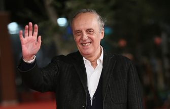 ROME, ITALY - OCTOBER 19:  Dario Argento walks the red carpet during the 10th Rome Film Fest on October 19, 2015 in Rome, Italy.  (Photo by Ernesto Ruscio/Getty Images)