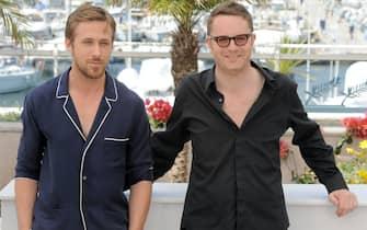 "64th Cannes Film Festival 2011 -..Photocall film ""Drive"" - Ryan Gosling - Nicolas Winding Refn"