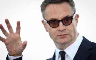 """Nicolas Winding Refn attend the """"Too Old To Die Young"""" photocall during the 72nd annual Cannes Film Festival on May 18, 2019 in Cannes, France."""
