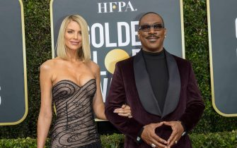 Eddie Murphy and Paige Butcher attend the 77th Annual Golden Globe Awards, Golden Globes, at Hotel Beverly Hilton in Beverly Hills, Los Angeles, USA, on 05 January 2020. | usage worldwide