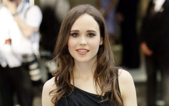 epa02241656 Canadian actress Ellen Page arrives at the premiere of Inception held at the Odeon cinema, Leicester Square, London, Britain, 08 July 2010. Inception is a sci-fi action thriller film by British-US director Christopher Nolan.  EPA/JONATHAN BRADY
