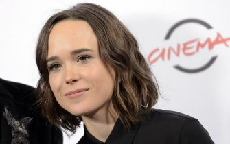 Canadian actress/cast member Ellen Page poses during the photocall for the movie 'Freeheld' at the 10th annual Rome Film Festival, in Rome, Italy, 18 October 2015. The festival runs from 16 to 24 October. ANSA/CLAUDIO ONORATI.