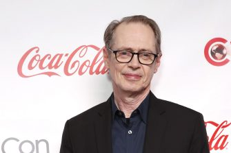 epa07486054 American actor Steve Buscemi poses for photographers at the CinemaCon Big Screen Achievement Awards during CinemaCon 2019 held within the Omnia Nightclub at Caesars Palace in Las Vegas, Nevada, USA, 04 April 2019. CinemaCon 2019 is the official convention of the National Association of Theatre Owners (NATO) and runs from 01 to 04 April 2019. Spencer was honored with the CinemaCon Spotlight Award.  EPA/NINA PROMMER