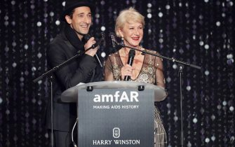 appears on stage at the amfAR's 23rd Cinema Against AIDS Gala at Hotel du Cap-Eden-Roc on May 19, 2016 in Cap d'Antibes, France.