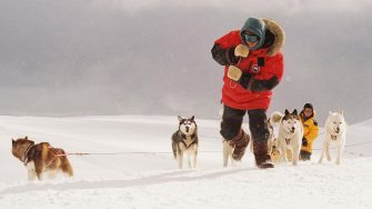 """Pictured:   Jerry Shepard (PAUL WALKER) in a scene from Disney's EIGHT BELOW, directed by Frank Marshall.     THIS MATERIAL MAY BE LAWFULLY USED IN ALL MEDIA EXCLUDING THE INTERNET, ONLY TO PROMOTE THE RELEASE OF THE MOTION PICTURE ENTITLED """"EIGHT BELOW"""" DURING THE PICTURE'S PROMOTIONAL WINDOWS. ANY OTHER USE, RE-USE, DUPLICATION OR POSTING OF THIS MATERIAL IS STRICTLY PROHIBITED WITHOUT THE EXPRESS WRITTEN CONSENT OF BUENA VISTA PICTURES. AND COULD RESULT IN LEGAL LIABILITY. YOU WILL BE SOLELY RESPONSIBLE FOR ANY CLAIMS, DAMAGES, FEES, COSTS, AND PENALTIES ARISING OUT OF UNAUTHORIZED USE OF THIS MATERIAL BY YOU OR YOUR AGENTS. NOT FOR INTERNET USE. APPROVED FOR PRINT OUTLETS ONLY."""