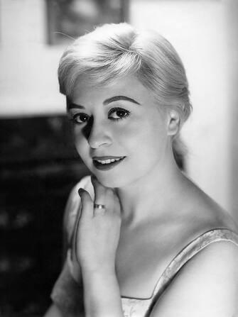 (GERMANY OUT) Masina, Giulietta *22.02.1921-23.03.1994+Schauspielerin, Italien- Portrait- undatiert (50er Jahre) (Photo by Reinhard-Archiv/ullstein bild via Getty Images)