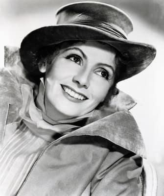 Kino. Die schwedische Filmschauspielerin Gerta Garbo (1905 -, 1990), ca. in den, 1940er Jahren. (Photo by FilmPublicityArchive/United Archives via Getty Images)