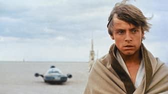 MARK HAMILL STAR WARS; STAR WARS: EPISODE IV - A NEW HOPE (1977)