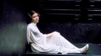 CARRIE FISHER STAR WARS; STAR WARS: EPISODE IV - A NEW HOPE (1977)