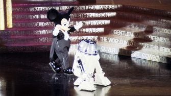 THE 50TH ANNUAL ACADEMY AWARDS - Show Coverage - Shoot Date: April 3, 1978. (Photo by Walt Disney Television via Getty Images Photo Archives/Walt Disney Television via Getty Images)MICKEY MOUSE;R2-D2