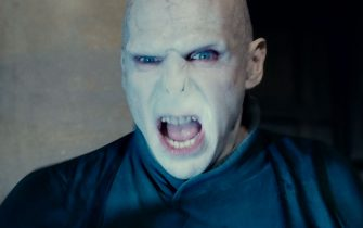 """RALPH FIENNES as Lord Voldemort in Warner Bros. Pictures' fantasy adventure """"HARRY POTTER AND THE DEATHLY HALLOWS – PART 2,"""" a Warner Bros. Pictures release."""