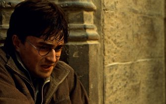 DANIEL RADCLIFFE as Harry Potter in Warner Bros. Picturesâ   fantasy adventure â  HARRY POTTER AND THE DEATHLY HALLOWS â   PART 2,â   a Warner Bros. Pictures release.