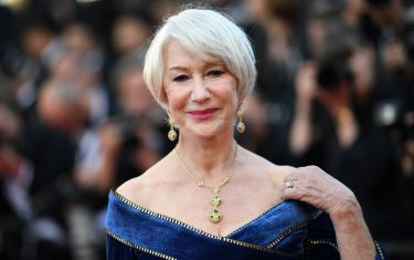 "British actress Helen Mirren poses as she arrives on May 12, 2018 for the screening of the film ""Girls of the Sun (Les Filles du Soleil)"" at the 71st edition of the Cannes Film Festival in Cannes, southern France. (Photo by LOIC VENANCE / AFP)        (Photo credit should read LOIC VENANCE/AFP via Getty Images)"