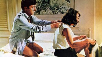 THE GRADUATE 1967 UA film with Dustin Hoffman and Anne Bancroft