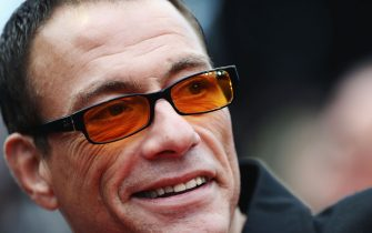 """CANNES, FRANCE - MAY 15: Jean-Claude Van Damme  attends the """"You Will Meet A Tall Dark Stranger"""" Premiere at the Palais des Festivals during the 63rd Annual Cannes Film Festival on May 15, 2010 in Cannes, France.  (Photo by Michael Buckner/Getty Images)"""
