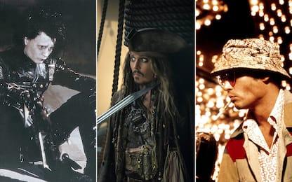 Johnny Depp: i personaggi più famosi interpretati dall'attore. FOTO