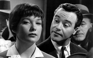 SHIRLEY MACLAINE & JACK LEMMON in The Apartment *Editorial Use Only* www.capitalpictures.com sales@capitalpictures.com Supplied by Capital Pictures