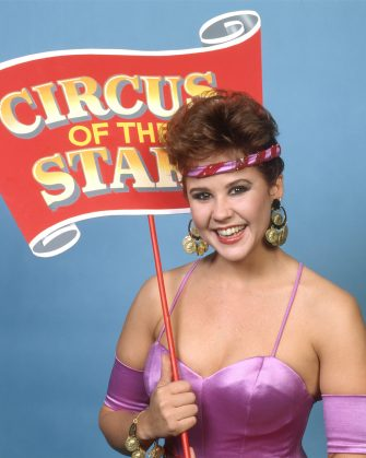 LOS ANGELES - DECEMBER 18: Pictured is Linda Blair on THE 8TH CIRCUS OF THE STARS television special, December 18, 1983. (Photo by CBS via Getty Images)