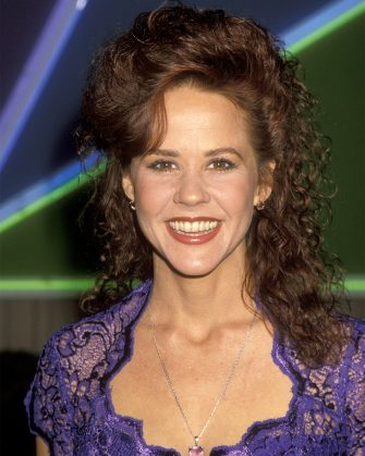Linda Blair during Celebration for 50th Anniversary of Golden Globe Awards at NBC Studios Stage 9 in Beverly Hills, California, United States. (Photo by Ron Galella/Ron Galella Collection via Getty Images)