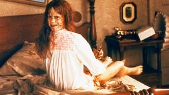 Kino. The Exorcist, USA, 1973, aka: Der Exorzist, Regie: William Friedkin, Darsteller: Linda Blair. (Photo by FilmPublicityArchive/United Archives via Getty Images)
