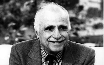 MARIO MONICELLI (ROMA - 1976-03-21, Marco Bruni / Giacominofoto) p.s. la foto e' utilizzabile nel rispetto del contesto in cui e' stata scattata, e senza intento diffamatorio del decoro delle persone rappresentate