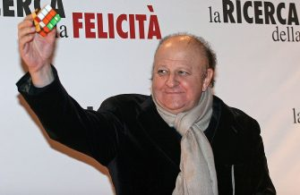 ROME, ITALY - JANUARY 11: Italian actor Massimo Boldi attends the premiere of ''Pursuit Of Happyness'' at the Auditorium Conciliazione on January 11, 2007 in Rome, Italy. (Photo Elisabetta Villa/Getty Images)